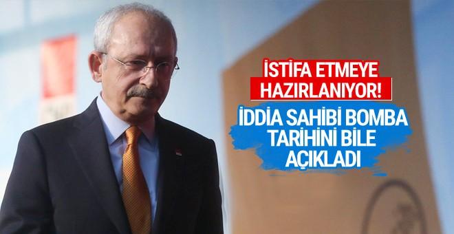 Kılıçdaroğlu istifa mı ediyor iddia sahibi bomba!
