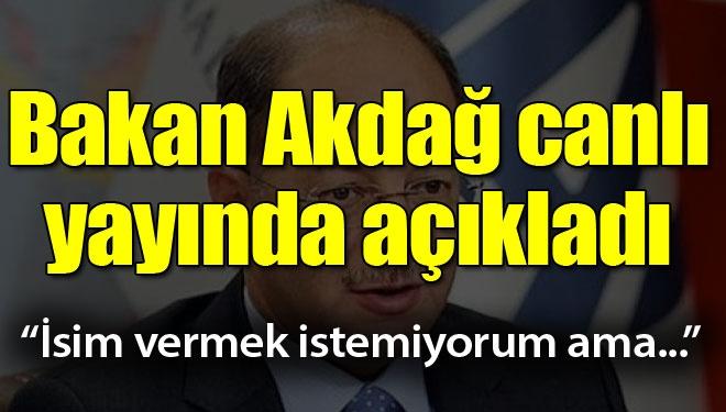 Bakan Akdağ canlı yayında açıkladı