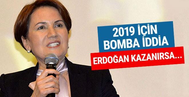 Akşener'den 2019 iddiası