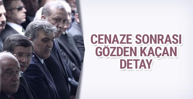 Gül'ün babasının vefatı sonrası gözden kaçan detay!