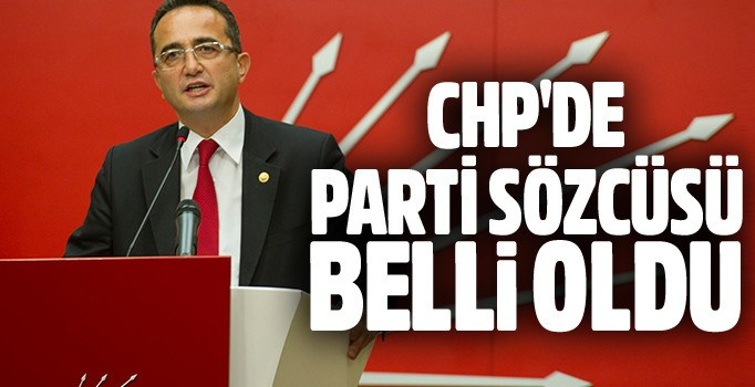 CHP parti sözcülüğüne Bülent Tezcan getirildi