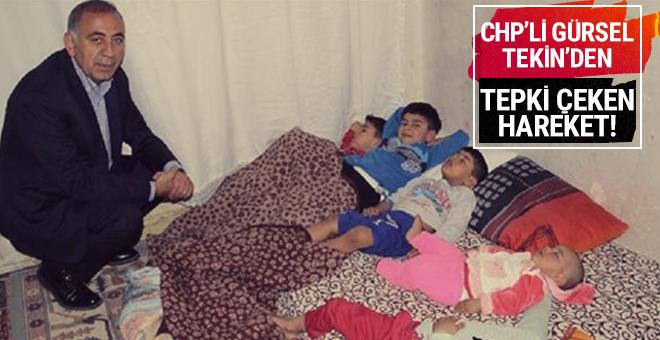 Tekin Suriyeli ailenin evine ayakkabıyla girdi!