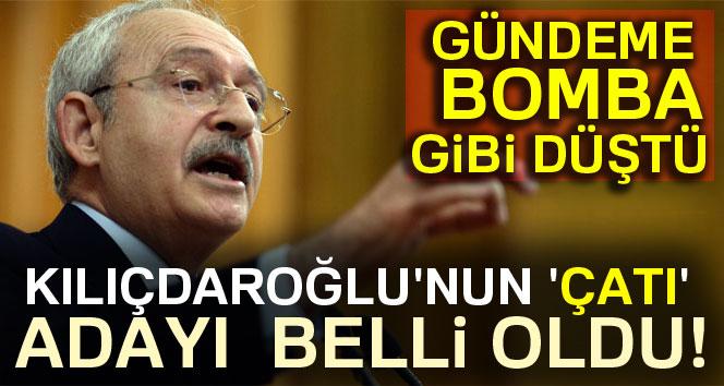 Kılıçdaroğlu'nun 'çatı' adayı belli oldu