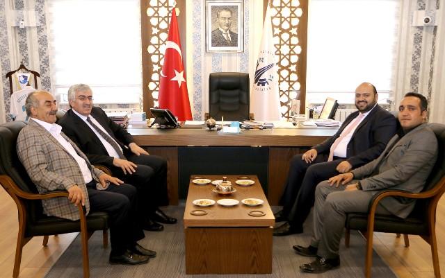 Öz'den Başkan Orhan'a teşekkür ziyareti