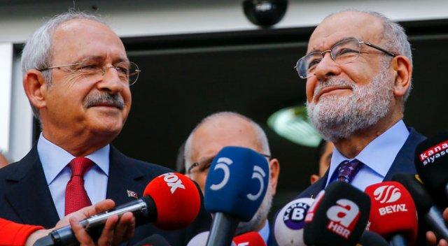 Kılıçdaroğlu Temel Karamollaoğlu görüşmesi