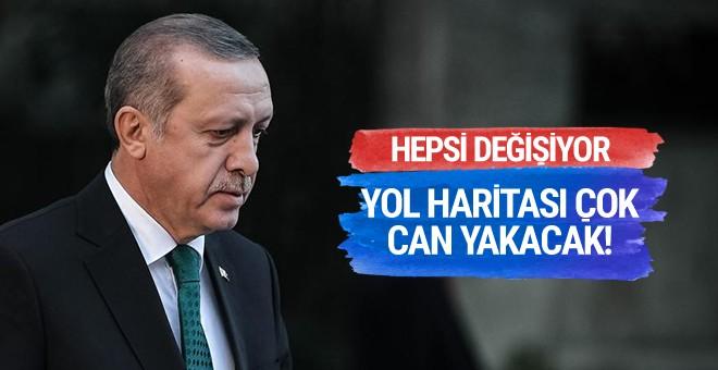 Erdoğan'ın yol haritası çok can yakacak