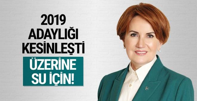 Meral Akşener'in 2019 adaylığı kesinleşti
