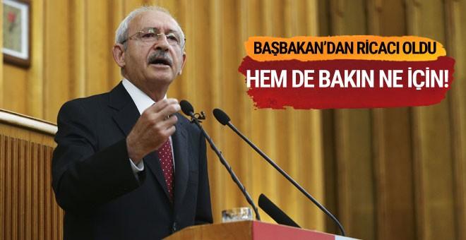 Kılıçdaroğlu Binali Yıldırım'dan ricacı oldu
