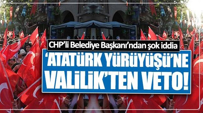 Valilik  'Atatürk Yürüyüşü'ne izin vermedi