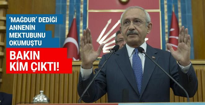 Kılıçdaroğlu'nun 'mağdur' dediği anne bakın kim çıktı!