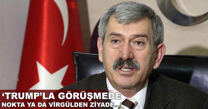 MHP'li Çetin'den Erdoğan'ın ABD ziyaretiyle ilgili açıklama