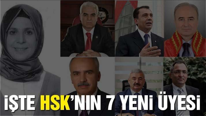 İşte HSK'nın 7 yeni üyesi!