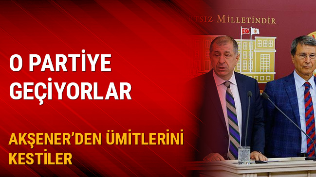 Yusuf Halaçoğlu ve Ümit Özdağ CHP'ye geçiyor