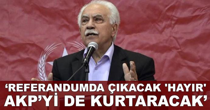Referandumda çıkacak 'hayır' AKP'yi de kurtaracak