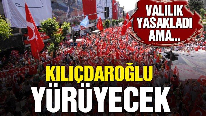Kılıçdaroğlu yasaklanan 19 Mayıs yürüyüşüne katılacak