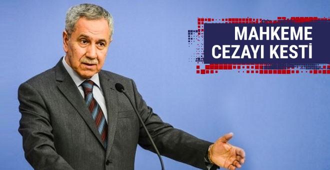 Bülent Arınç'a mahkemeden 354 günlük ceza