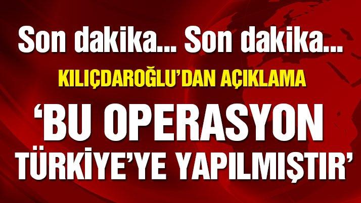 'Sözcü'ye yönelik operasyon doğrudan Türkiye'ye yapılmıştır'