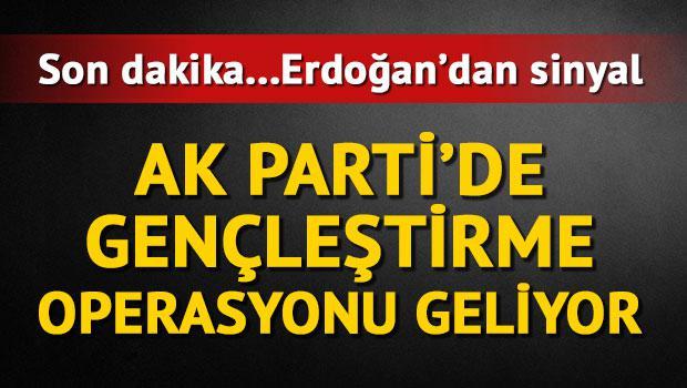 AK Parti'de gençleştirme operasyonu geliyor