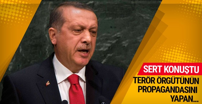 Erdoğan: Onlara gelince hak bize gelince haksızlık öyle mi?