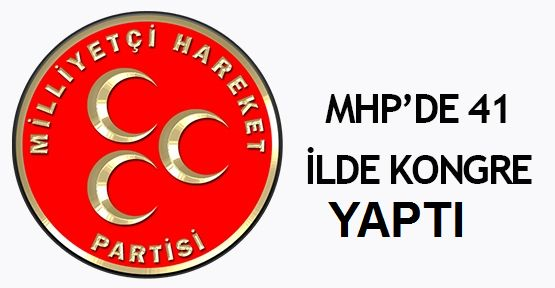 MHP 41 İlde Temizlik Kongresi Yaptı!