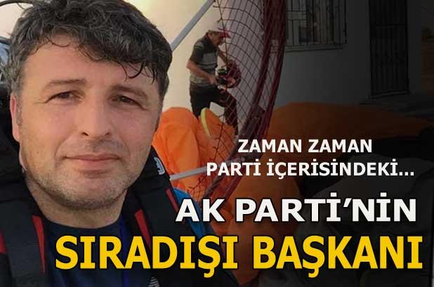AK Partili sıra dışı başkan