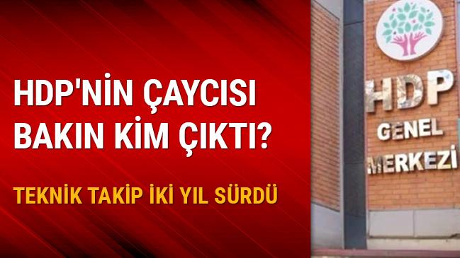 HDP'nin çaycısı da gözaltına alındı