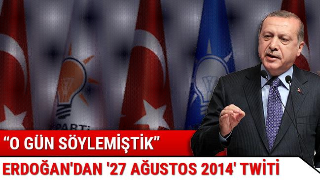 Erdoğan: Yeni Türkiye'yi inşa dönemine giriyoruz