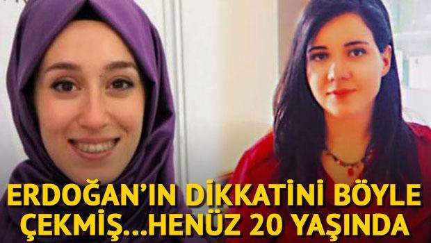 Erdoğan'ın dikkatini böyle çekti...