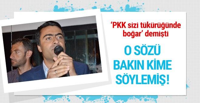 'PKK sizi tükürüğünde boğar' diyen Zeydan bakın şimdi ne dedi!