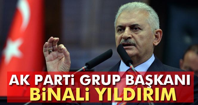 AK Parti Grup Başkanı Binali Yıldırım
