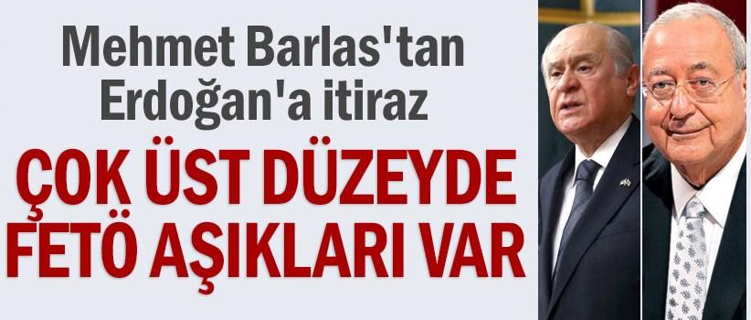 Mehmet Barlas'tan Erdoğan'a itiraz: