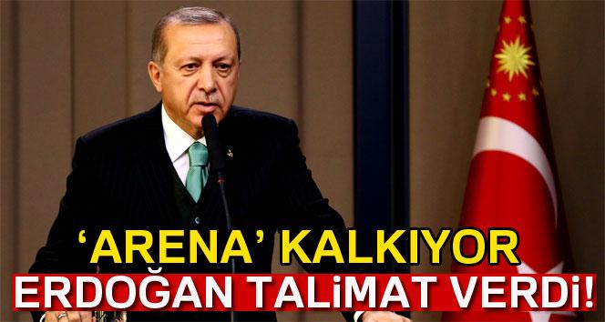 Erdoğan: 'Arena isimlerini stadlardan kaldıracağız'