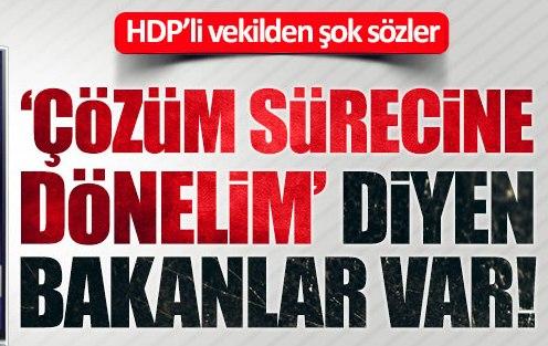 HDP'li Paylan: Bazı Bakanlar çözüm sürecine dönmeyi istiyor