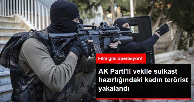 PKK'lı Kadın Terörist Yakalandı