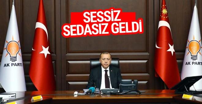 Erdoğan'la ilk toplantı
