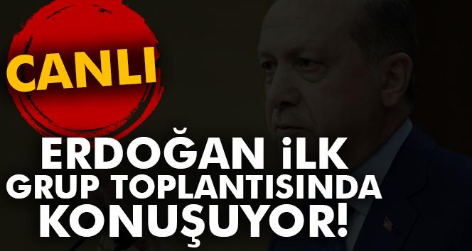 Cumhurbaşkanı Erdoğan AK Parti grubunda!