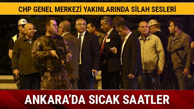 Ankara'da şüpheli araçtan ateş açan şahıslar