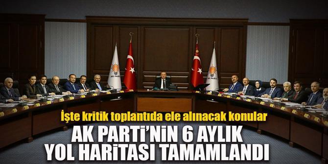 AK Parti'nin yol haritası tamamlandı