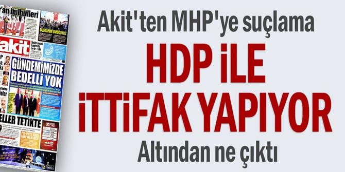 HDP ile ittifak yapıyor