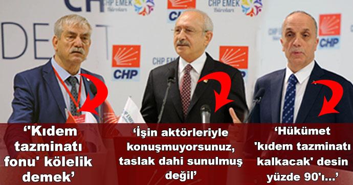 Ankara'da Kıdem Tazminatı Çalıştayı