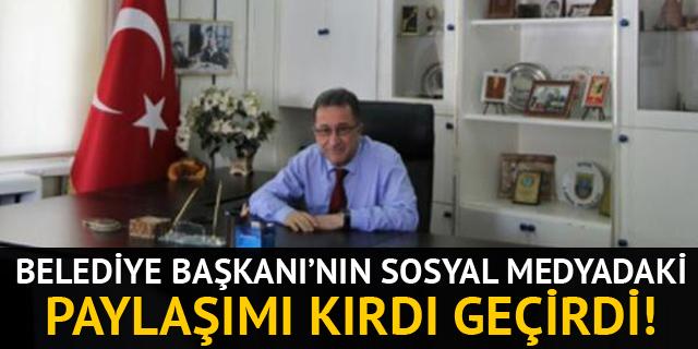 Edremit Belediye Başkanı Kamil Saka'nın paylaşımı gülümsetti