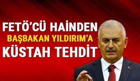 Emre Uslu'dan Başbakan Yıldırım'a ölüm tehdidi