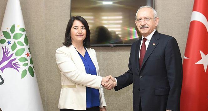 Kılıçdaroğlu HDP'yi ziyaret etti