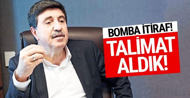 Altan Tan'dan bomba itiraf!