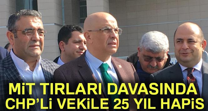 CHP'li Enis Berberoğlu'na tutuklama kararı!