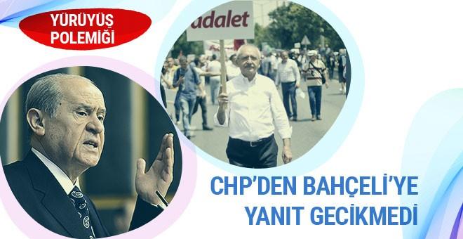 CHP'den Devlet Bahçeli'ye yanıt
