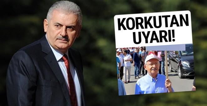 Yıldırım'dan Kılıçdaroğlu'nun yürüyüşü için ilk yorum