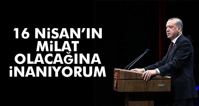 16 Nisan Türkiye için milat
