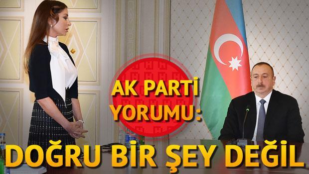AK Parti yorumu: Doğru bir şey değil