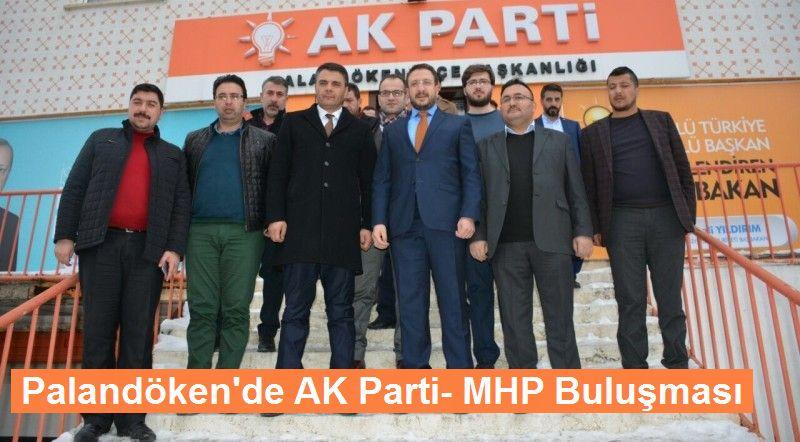 Palandöken'de AK Parti-MHP buluşması